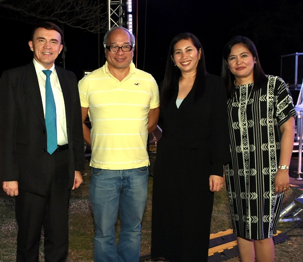 L-R: Quest Hotel and Conference Center-Clark general manager Patrick Beck, Filinvest vice president for supply chain management Michael Gotianun, Filinvest Cyberparks Inc. first vice president Janette Cordero, and Filinvest Alabang Inc. executive vice president Catherine Ilagan