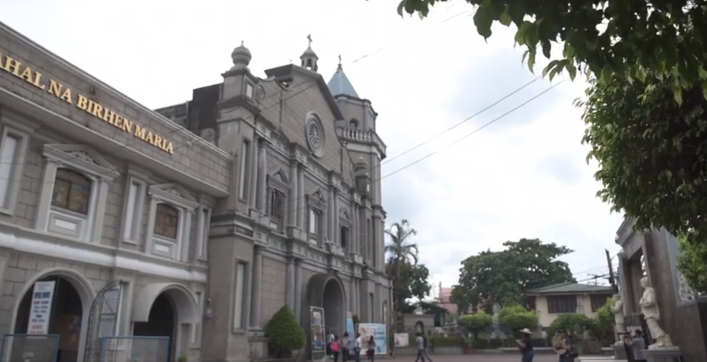 The Our Lady of the Most Holy Rosary Parish Church of Orani