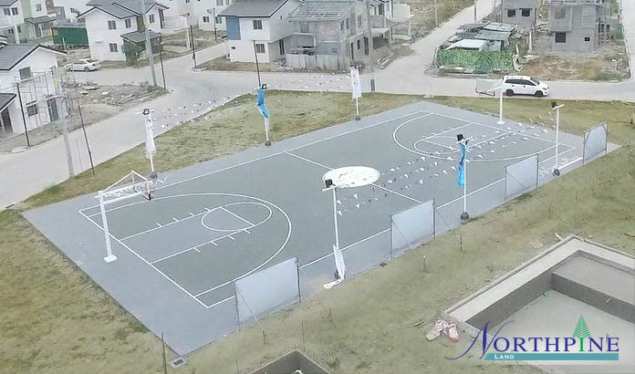 Montana Views Basketball Court