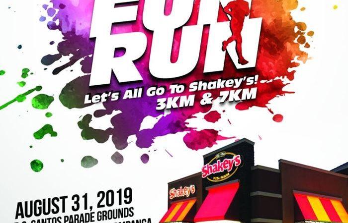 Fun, Family, Fitness: Shakey's Color Fun Run