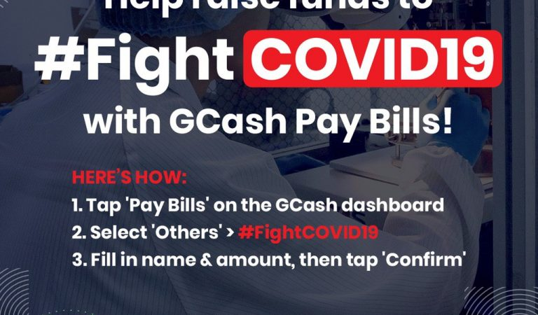 #FightCOVID19: GCash users may now support frontline health workers and hospitals via fintech platform