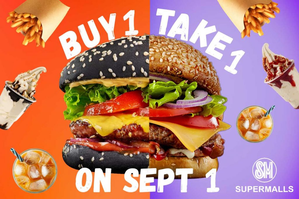 Buy One Take One Deals at SM Supermalls
